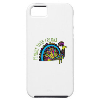 Flaunt Your Colors iPhone 5 Cover