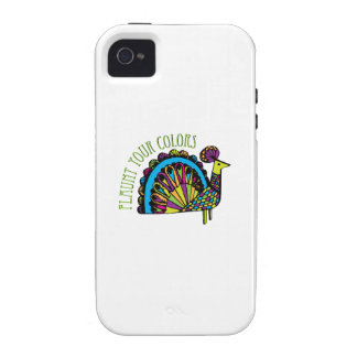Flaunt Your Colors Case-Mate iPhone 4 Covers