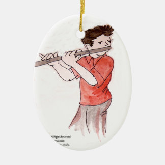 Flautist Ornament
