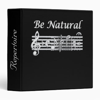 Flautists Know How to Be Natural Music Binder