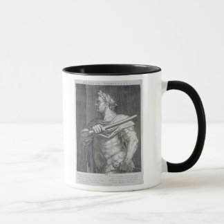 Flavius Domitian (AD 51 - AD 96) Emperor of Rome 8 Mug