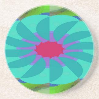 Flavored Philanthropy Pattern Coaster