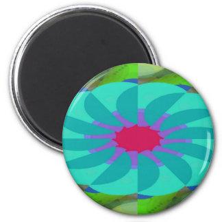 Flavored Philanthropy Pattern Magnet