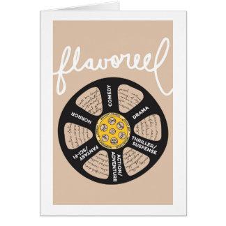 Flavoreel Beige Notecard