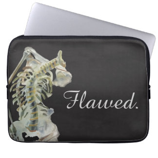 Flawed. Laptop Sleeve