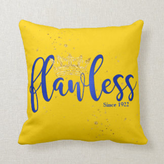 Flawless Since 1922 Pillow