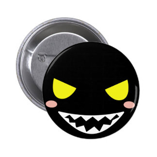 Fleck the Black Ghost Head 2 Inch Round Button