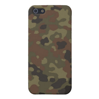 Flecktarn cammo pattern iPhone 5/5S cover