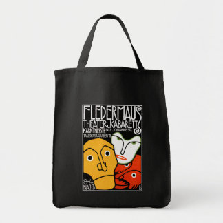 Fledermaus Theater and Cabaret Tote Bag