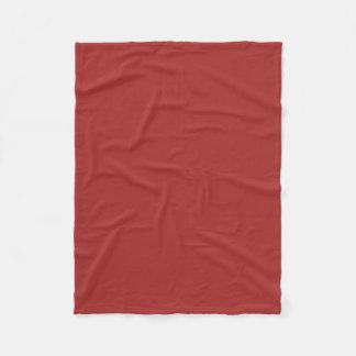 """Fleece Blanket 30""""x40"""" - Brown"""
