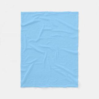 "Fleece Blanket 30""x40"" - Light Sky Blue"