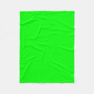 "Fleece Blanket 30""x40"" - Lime"