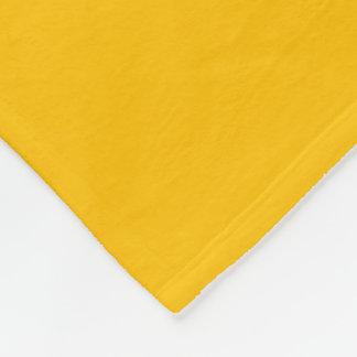 Fleece Blanket uni Yellow