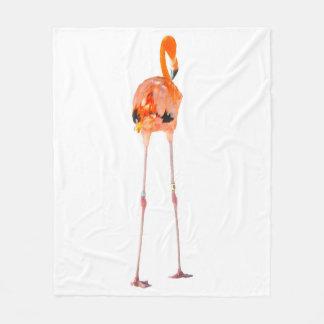 Fleece Flamingo blanket.