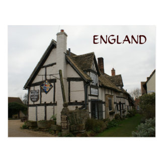 Fleece Inn Pub Postcard