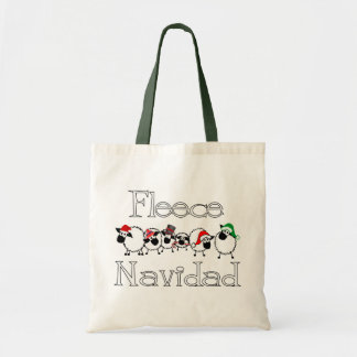 Fleece Navidad Bag
