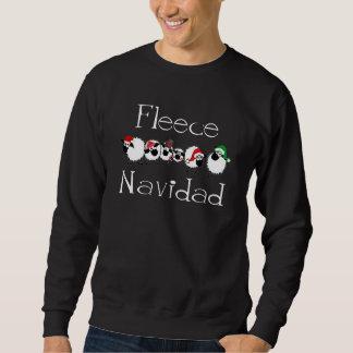 Fleece Navidad Funny Christmas Apparel Pull Over Sweatshirts