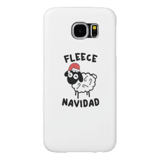 Fleece Navidad Samsung Galaxy S6 Cases