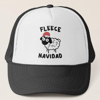 Fleece Navidad Trucker Hat