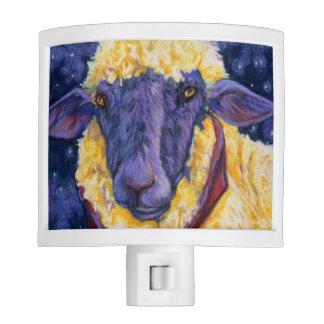 Fleece On Earth - Starry Night Sheep Nightlite Night Lites