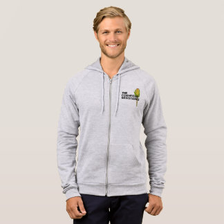 Fleece Pullover Hoodie - The Cornfield Resistance