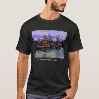 Fleet at Rest,  Oregon Coast              ... T-Shirt