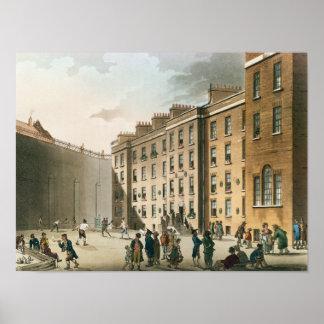 Fleet Prison from Ackermann's Poster