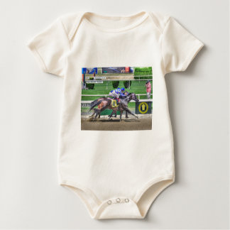 Fleetphoto Finish Baby Bodysuit