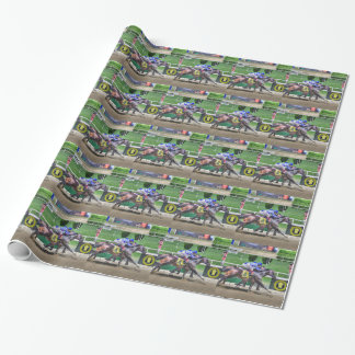 Fleetphoto Finish Wrapping Paper
