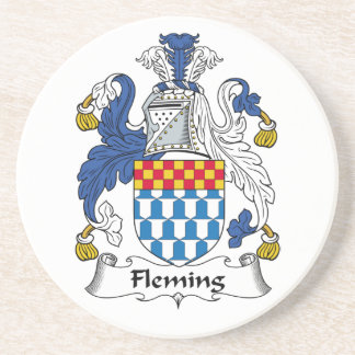 Fleming Family Crest Coaster