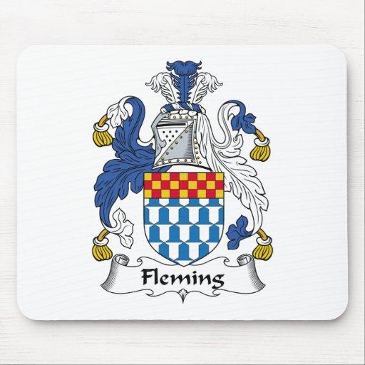 Fleming Family Crest Mouse Mat