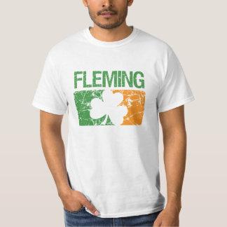 Fleming Surname Clover T-Shirt
