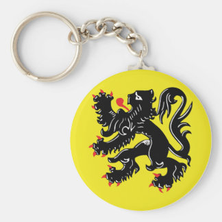 Flemish lion of Flanders key-ring Keychain