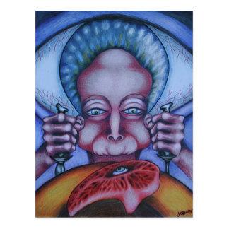 Flesh Eater Postcard