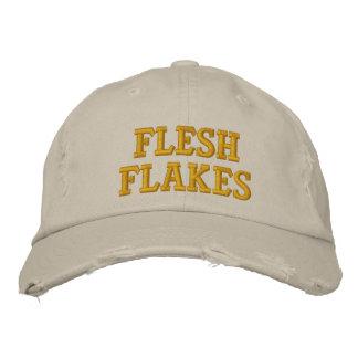 Flesh Flakes Embroidered Baseball Caps