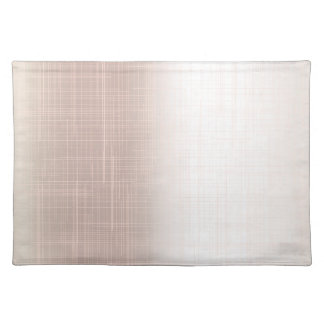Flesh Pink Grunge Effect Background Placemat