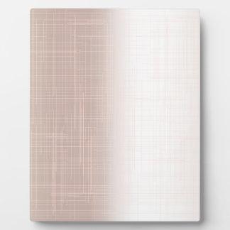 Flesh Pink Grunge Effect Background Plaque