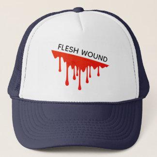 Flesh Wound Trucker Hat