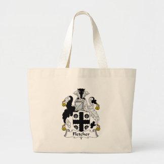 Fletcher Family Crest Canvas Bag