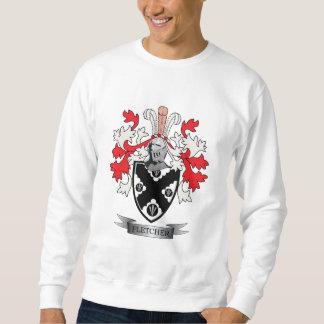 Fletcher Family Crest Coat of Arms Sweatshirt