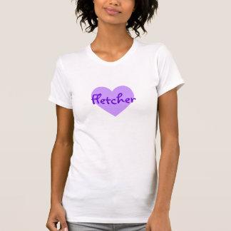 Fletcher in Purple T-Shirt