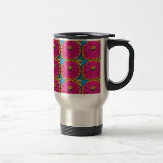 fleur artistique  UNIQUE Flower  by NavinJOSHI 15 Oz Stainless Steel Travel Mug