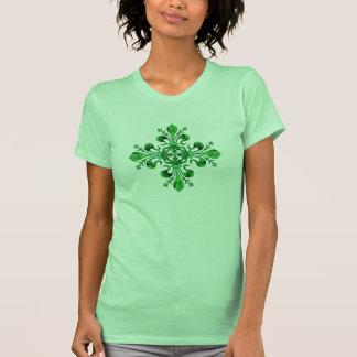 Fleur chanceux de lis de St Patrick (2) Tee Shirts