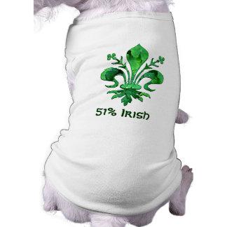 Fleur chanceux de lis de St Patrick T-shirt Pour Toutou