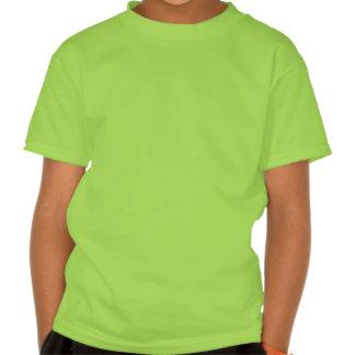Fleur chanceux de lis de St Patrick Tee Shirts
