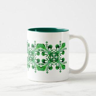 Fleur chanceux de lis Mug de St Patrick