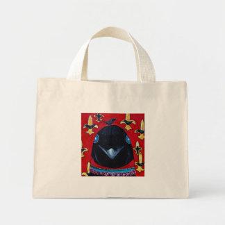 fleur d crows mini tote bag
