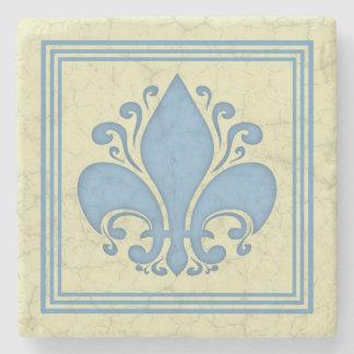Fleur de Antique Stone Coaster