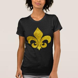 Fleur De Art Gold Rust T-Shirt