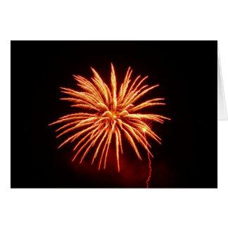 Fleur de feu d artifice - carte